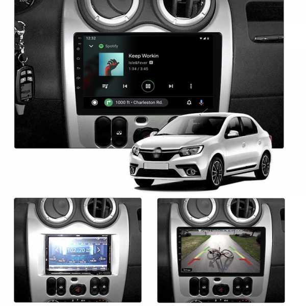 Nissan NP200 2009 - 2021 9 Inch Android Multimedia Navigation Bluetooth Radio