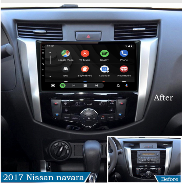 Nissan Navara 2016 - 2019 10.1 Inch Android Satnav Radio Car Audio Sound System
