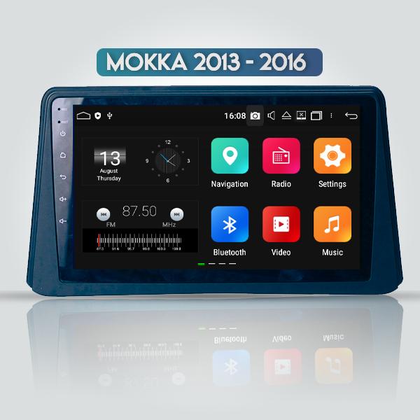 Opel Mokka 2013 - 2016 9 Inch Android Navigation Bluetooth Radio