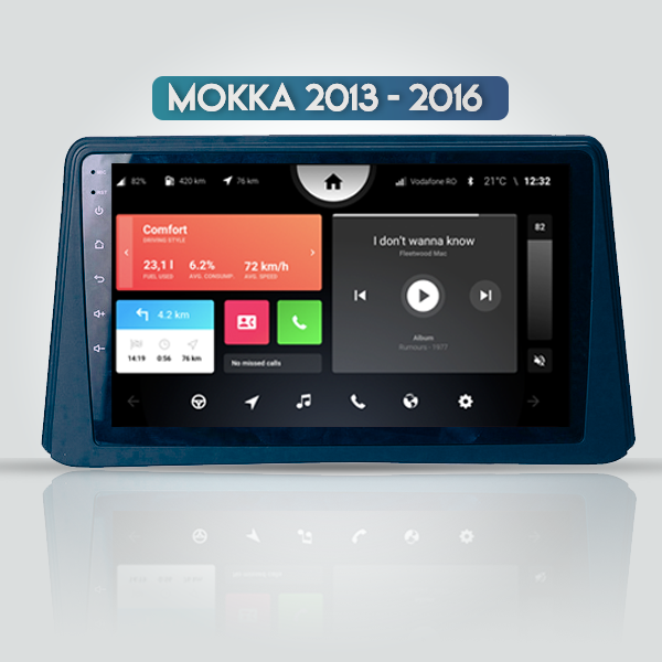 OPEL MOKKA 2013 - 2016 9 Inch Android Navigation Double din Radio