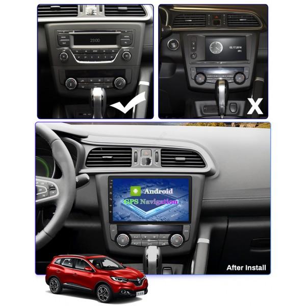 Renault Kadjar 2016 - 2017 9 Inch Android Satnav Radio Car Audio Sound System