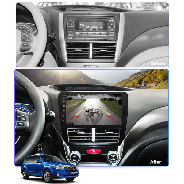 Subaru Forester 2008 - 2012 9 Inch Android Navigation Touch Screen