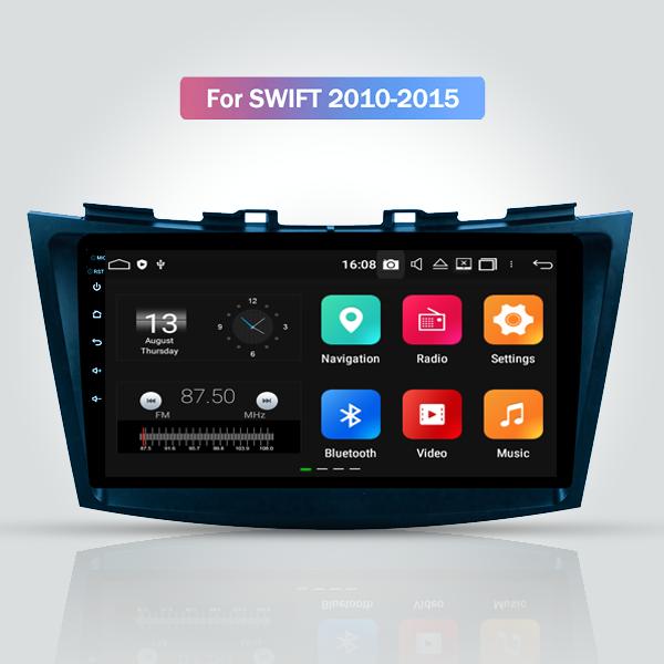 Suzuki Swift 2010 - 2015 9 Inch Android Touch Scre...