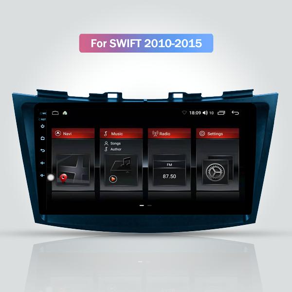 Suzuki Swift 2010 - 2015 Android Satnav Radio Touc...