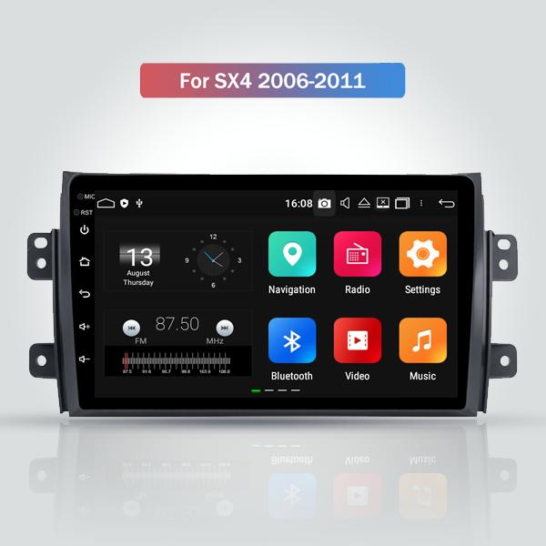 Suzuki SX4 2005 - 2014 9 Inch Android Satnav Radio...