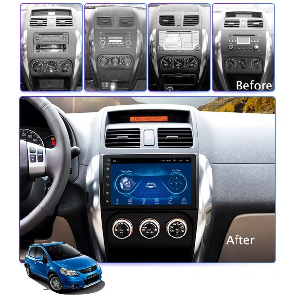 Suzuki SX4 2005 - 2014 9 Inch Android Satnav Radio Car Audio Sound System