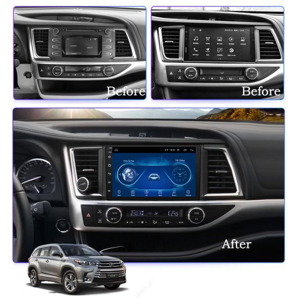 Toyota Highlander 2015 - 2018 10.1 Inch Android Satnav Radio Car Audio Sound System