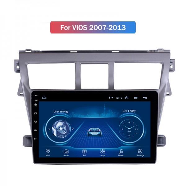 Toyota Yaris 2008 - 2013 10.1 Inch Android 8.1 Satnav Radio Car Audio Sound System