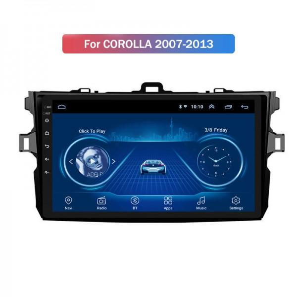 Toyota Corolla 2007 2013 9 inch Android Satnav Radio Car Audio Sound System
