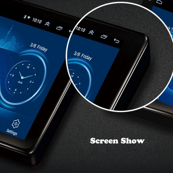 Toyota Hilux 2016 - 2019 10.1 Inch Android Satnav Radio Car Audio Sound System