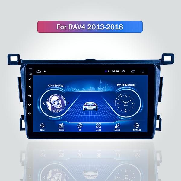 Toyota RAV-4 2013 - 2018 9 Inch Android Satnav Rad...