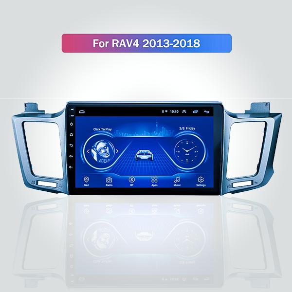 Toyota Rav-4 2013 - 2018 10.1 Inch Android Satnav ...