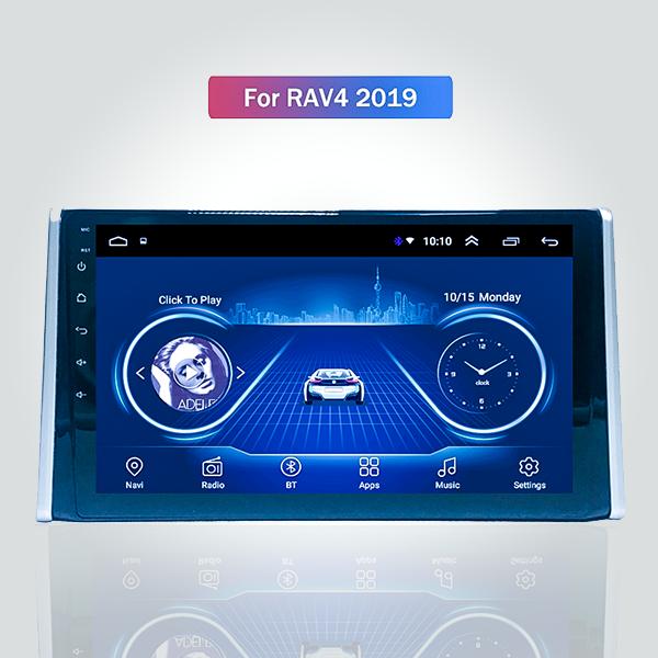 Toyota Rav4 2018 - 2019 10 Inch Android Satnav Rad...
