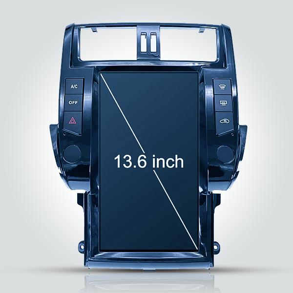 Toyota Prado 150 2010 - 2013 13.6 Inch Tesla Android Navigation Radio Car Audio Sound System