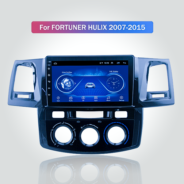 Toyota Fortuner Hilux 2007 - 2015 9 Inch Android S...