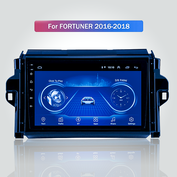 Toyota Fortuner 2016 - 2018 9 Inch Android Car Aud...
