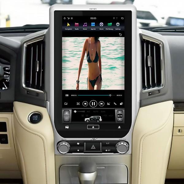Toyota Land Cruiser 2018 - 2020 Tesla 13.6 Inch Android Satnav Radio Car Audio Sound System