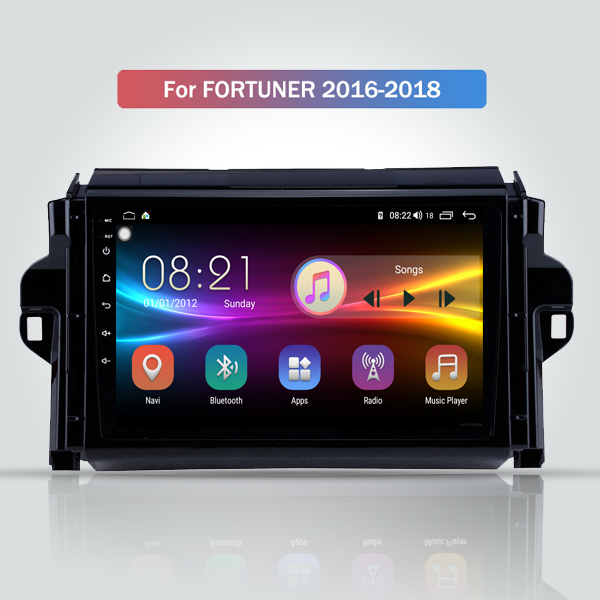 Toyota Fortuner 2015 - 2018 9 Inch Android Navigat...