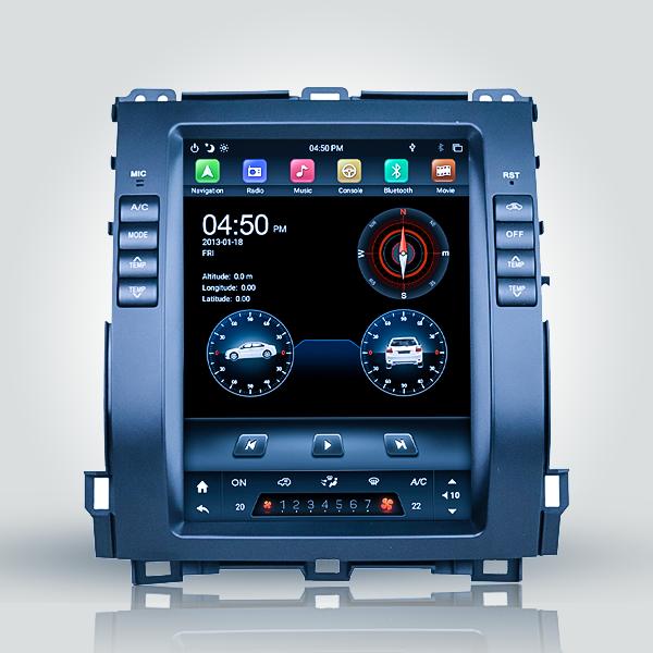 Toyota Prado 120 Series 2002 - 2009 9.7 Inch Android Satnav Radio Car Audio Sound System