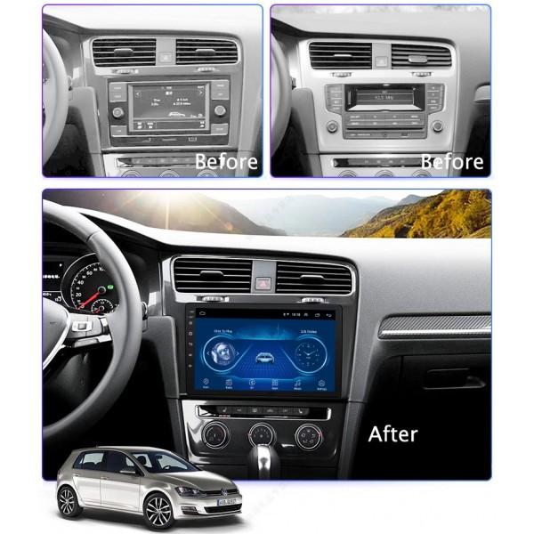 Volkswagen Golf 7 LHD 2014 - 2018 10.1 Inch Android Satnav Radio Car Audio Sound System