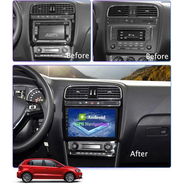 Volkswagen Universal 2001 - 2018 9 Inch Android Satnav Radio Car Audio Sound System