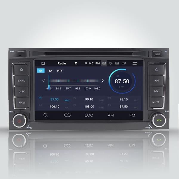 Volkswagen Touareg 2004 - 2011 7 Inch Android Satnav Radio Car Audio Sound System