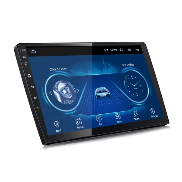 2 Din Android 8.1 10 Inch CAR NAVIGATION Multimedia Player